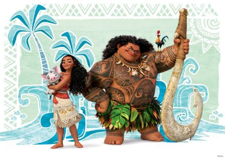 Wall mural for bedroom Moana Disney
